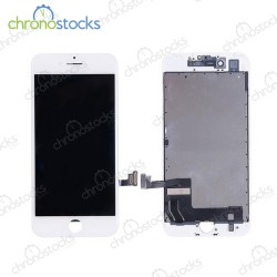 Ecran LCD vitre tactile chassis iPhone 7 blanc