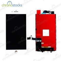 Ecran LCD vitre tactile chassis iPhone 8 Plus blanc