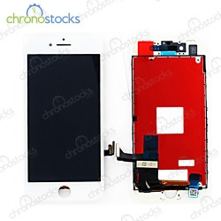 Ecran LCD vitre tactile chassis iPhone 8 blanc