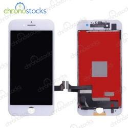 Vitre tactile écran LCD châssis iPhone 7 Plus blanc