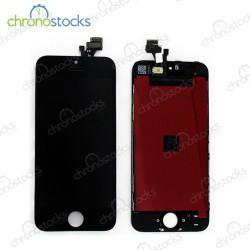 Vitre tactile écran LCD châssis iPhone 5 noir