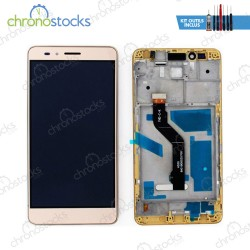 Ecran LCD + vitre tactile + chassis Honor 5X or