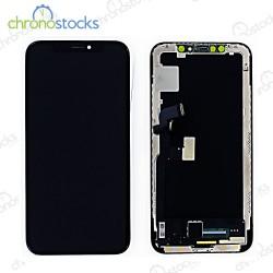 Ecran LCD + vitre tactile pour iPhone X noir