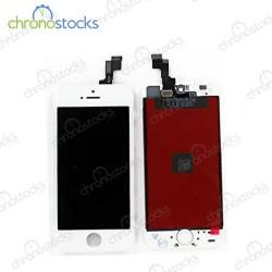 Ecran LCD vitre tactile pour iPhone 5se blanc