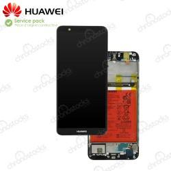 Ecran LCD vitre tactile original pour Huawei Psmart noir FIG-LX1