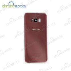 Vitre arriere pour Samsung S8 Plus SM-G955F rose