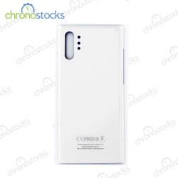 Vitre arrière Samsung Note 10 Plus SM-N976F blanc