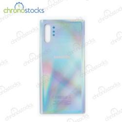Vitre arrière Samsung Note 10 Plus SM-N976F argent
