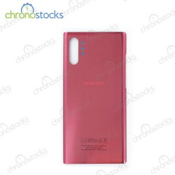 Vitre arrière Samsung Note 10 Plus SM-N976F rose