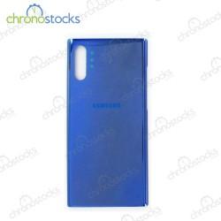 Vitre arrière Samsung Note 10 Plus SM-N976F bleu