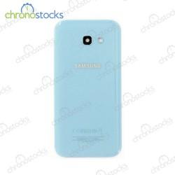 Vitre arrière Samsung Galaxy A5 2017 SM-A520F bleu