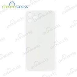 Vitre arrière iPhone 11 Pro Max argent (large hole)