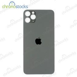 Vitre arrière pour iPhone 11 Pro Max gris clair (large hole)