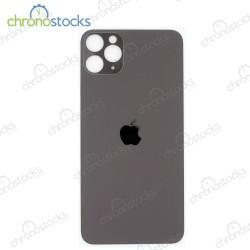 Vitre arrière pour iPhone 11 Pro noir (large hole)