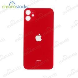 Vitre arriere pour iPhone 11 Rouge