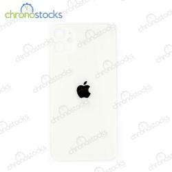 Vitre arrière iPhone 11 blanc (large hole)