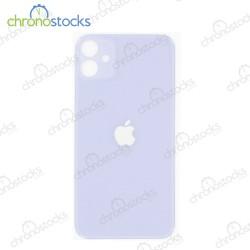 Vitre arrière iPhone 11 Mauve