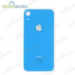 Vitre arrière iPhone XR bleu
