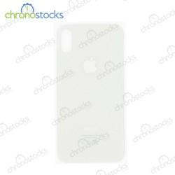 Vitre arrière iPhone X blanc