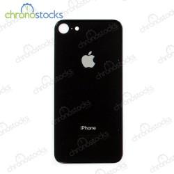 Vitre arrière iPhone 8/se2 (large hole) noir