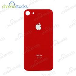 Vitre arrière pour iPhone 8 Rouge