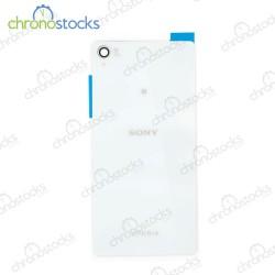 Vitre arriere pour Sony Xperia Z3 Blanc
