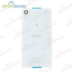 Vitre arriere pour Sony Xperia Z5 Mini Blanc