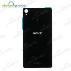 Vitre arriere pour Sony Xperia Z5 Noir