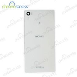 Vitre arriere pour Sony Xperia Z5 Blanc