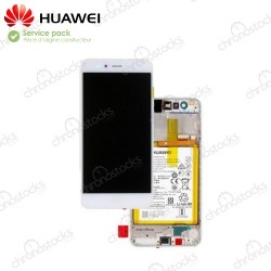 Ecran Complet Huawei P10 Lite Blanc