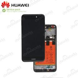 Ecran Complet Huawei P8 Lite 2017 noir PRA-LA1