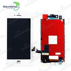 Ecran LCD vitre tactile iPhone 8 blanc original reconditionné