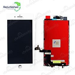 Ecran LCD vitre tactile iPhone 7 Plus blanc original reconditionné