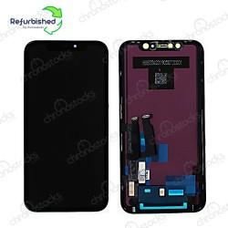 Ecran LCD vitre tactile iPhone XR noir original reconditionné