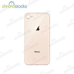 Vitre arrière pour iPhone 8/se2 (large hole) rose