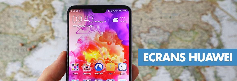 Ecrans, LCD, tactiles GSM et smartphones Huawei